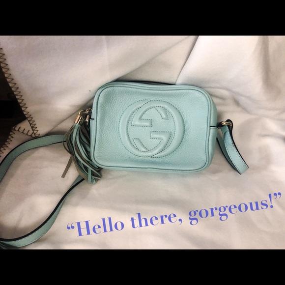 02b79c269ec2 Gucci Handbags - Gucci 'Soho small leather disco bag'